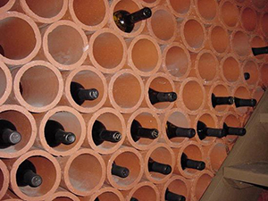 Terra Cotta Wine Rack
