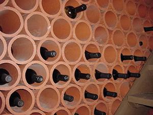 Terra Cotta Wine Rack